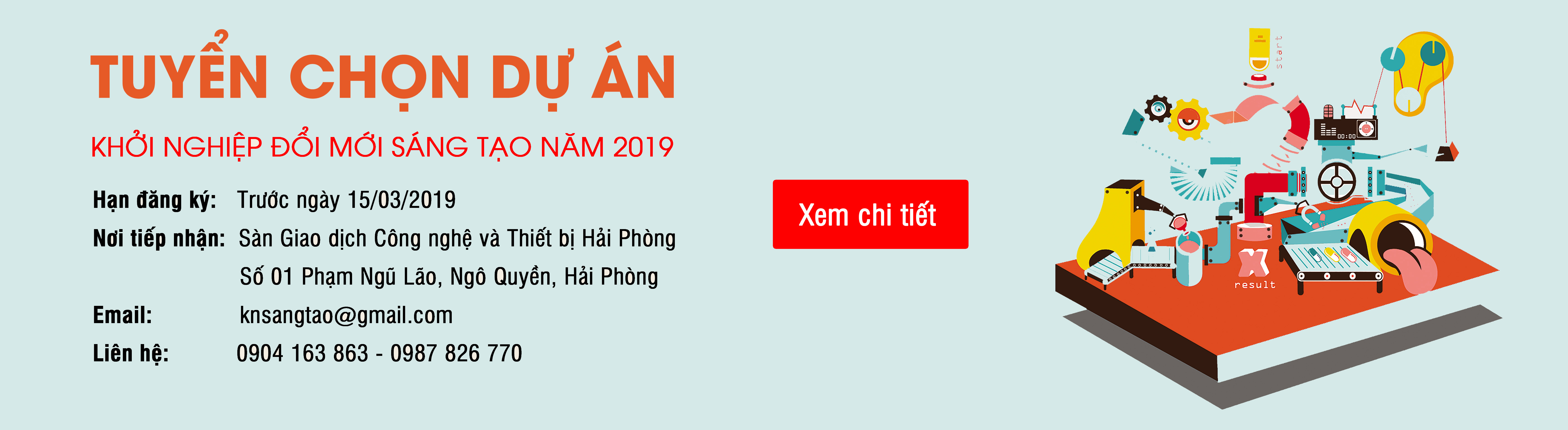 Banner khởi nghiệp